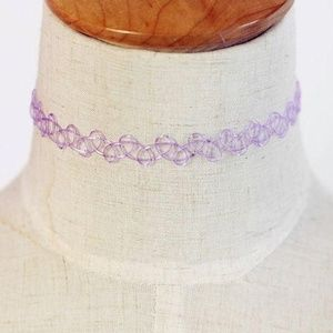 Jewelry - Pastel Purple Henna Choker 🎶